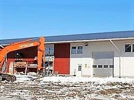 Edux-Ovet Oy, Nivala, tuotantohalli